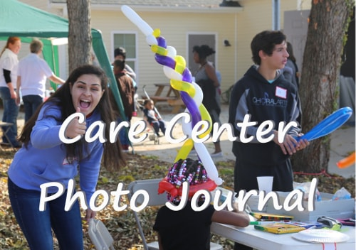 care center photo journal